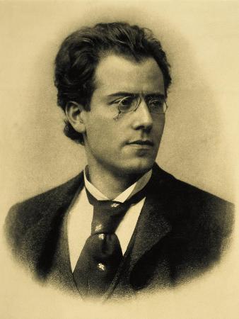 Austria, Vienna, Portrait of Gustav Mahler