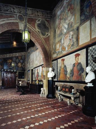 Italy, Lonato, Ugo Da Como Foundation, Casa Del Podesta, Gallery