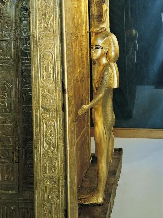Treasure of Tutankhamen, Gilded Chapel of Canopic Jars or Canopic Casket