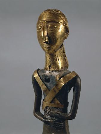 Little Statue Representing a Goddess