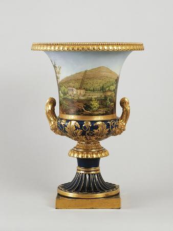 Medici Vase, Porcelain, Doccia Manufacture, Sesto Fiorentino, Tuscany, Italy