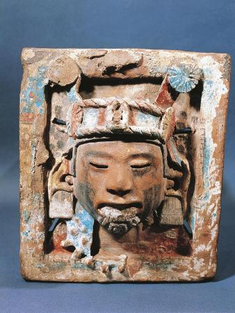 Plate Depicting God of Earth and Spring, known as Xipe Totec, Our Lord the Flayed One