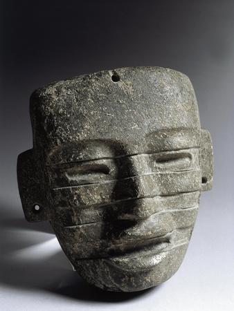 Pre-Columbian Civilizations, Mexico, Teotihuacan Culture, Stone Mask