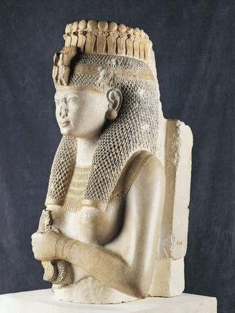 Statue of Queen Merit-Amon from Thebes