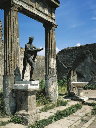 Roman Forum with Temple of Apollo