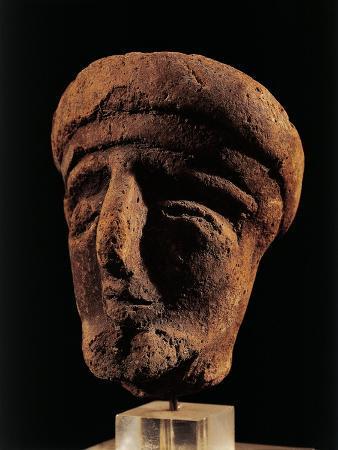 Samnites, Anthropomorphic Votive Clay Vessel, from Campania Region, Italy