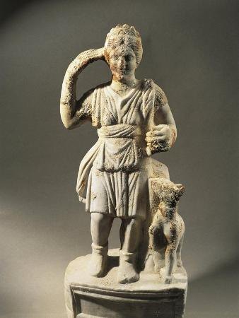 Romania, Germisara, Statue Representing Diana, Found in a Thermal Source in 1987
