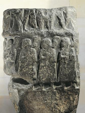 Victory Stele of Sargon, from Susa, Diorite