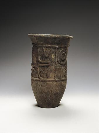 Italy, Rome, Museo Nazionale D'Arte Orientale, Decorated Pot from Chiba