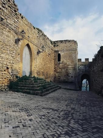 View of Lombardy Castle, 13th Century, Enna, Sicily, Italy