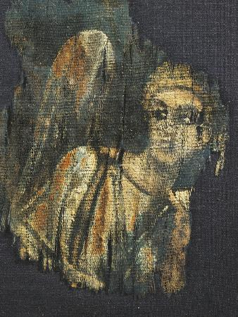 Linen Canvas Painting Portraying an Angel