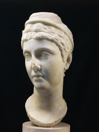 Marble Bust of Faustina Maior, Wife of Emperor Antoninus Pius
