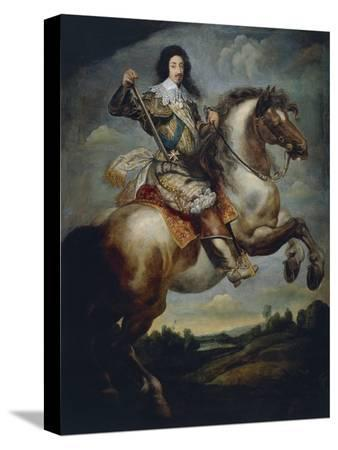 France, Versailles, Equestrian Portrait of Luigi XIII, King of France and Navarre