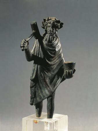 France, Glanum, Statuette Representing the God Silvanus, Bronze