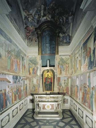 Italy, Florence, Church of Santa Maria Del Carmine, Brancacci Chapel