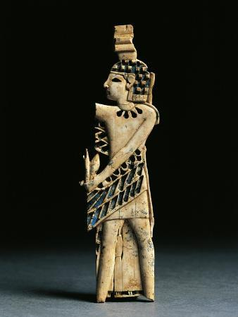 Lower Mesopotamia, Iraq, Winged Tutelary God from Nimrud, Ivory