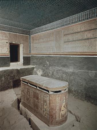 Egypt, Ancient Thebes, Valley of the Kings, Tomb of Amenhotep III