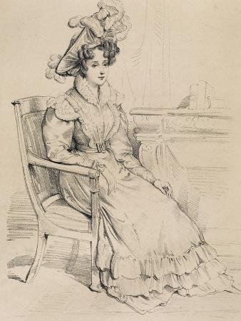 Portrait of Henrietta Constance Smithson