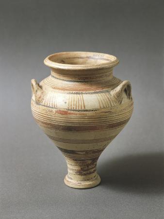 Mycenaean Amphora from Marina Di Girgenti Near Agrigento, Sicily, Italy
