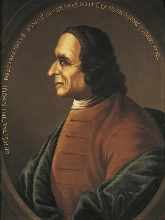 Italy, Bologna, Portrait of Giuseppe Tartini