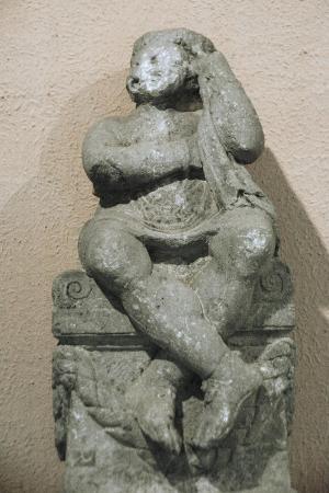 Statue, 3rd Century BC, Byllis, Albania, Tirana, National Archaeological Museum, Inside