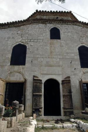 Albania, Kruje, the Dollma Teqe, Bektashi Temple, Islamic Sufi Order, Facade, Outside, 18th Century