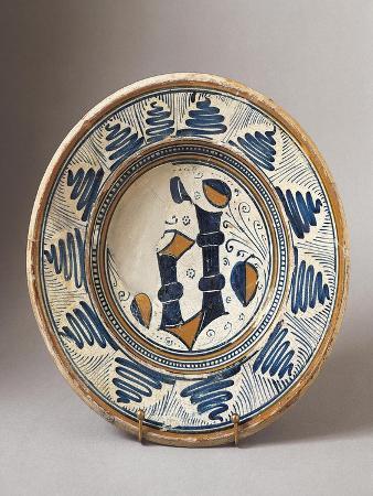Plate, Ceramic, Faenza, Emilia-Romagna, Italy