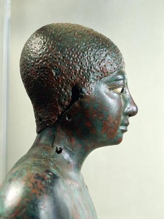 Copper Statuette of Pepi I, from Saqqara