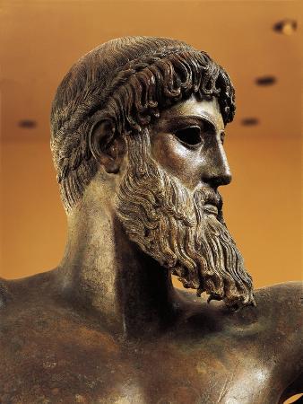 Bronze Statue of Poseidon from Cape Artemision