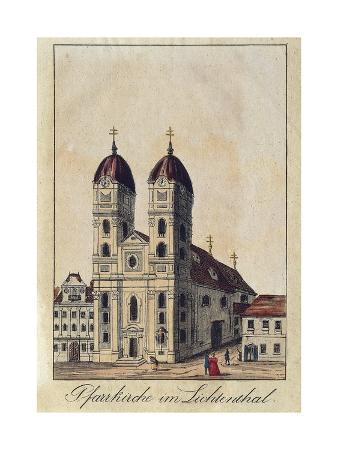 Austria, Vienna, University Church