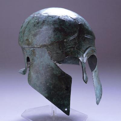 Corinthian Helmet, from Bastari, Albania, 5th Century BC