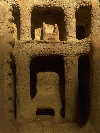 Egypt, Cairo, Model of Dwelling