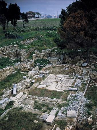 Italy, Apulia Regio, Siponto, Ancient City of Daunia, Archaeological Site