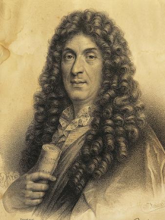 France, Portrait of Jean-Baptiste Lully