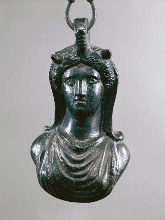 Weight Shaped as Head of Young Girl, from Pompei