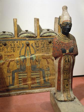 Ancient Egyptian Statuette of Osiris