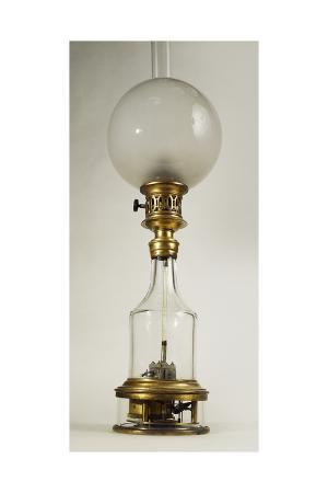 Carcel Oil Lamp, 1800-1820 Circa, France