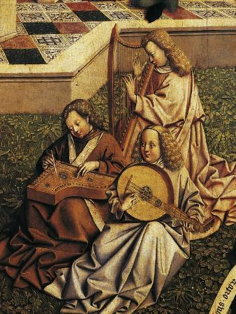 Angel Musicians, Detail from Source of Grace