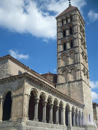 Spain, Segovia, Church of San Esteban
