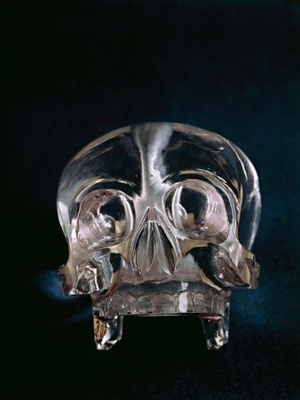 Quartz Crystal Skull