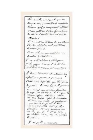 Document Attributed to Dreyfus Which Caused a False Charge of Treason to Be Brought Against Him