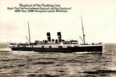 Royal Mail Lines, Dayboat of the Flushing Line