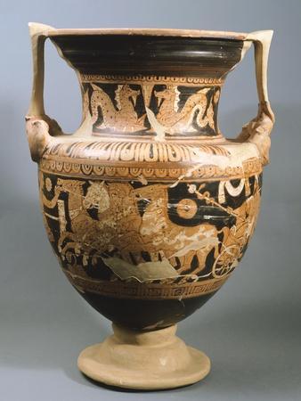 Amphora Depicting Vanth