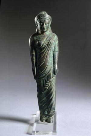 Bronze Statuette Depicting a Kore. Etruscan Civilization, 530-520 BC