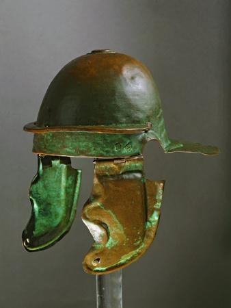 Bronze Helmet of the Roman Army, Realized at Rome in 69 A.D.