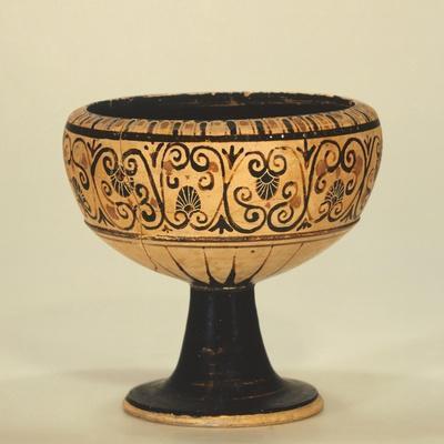 Pontic Chalice, Black-Figure Pottery