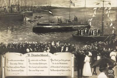 Deutsche U Boote, Empfang, Parade, Gedicht