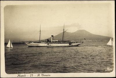 Napoli Campagnia, Berg Vesuv, Yacht, Segelboote