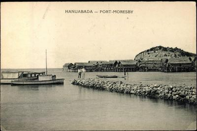 Port Moresby Hanuabada Papua Neu Guinea, Häuser
