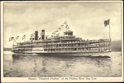 Dampfschiff Hendrick Hudson, Hudson River Day Line